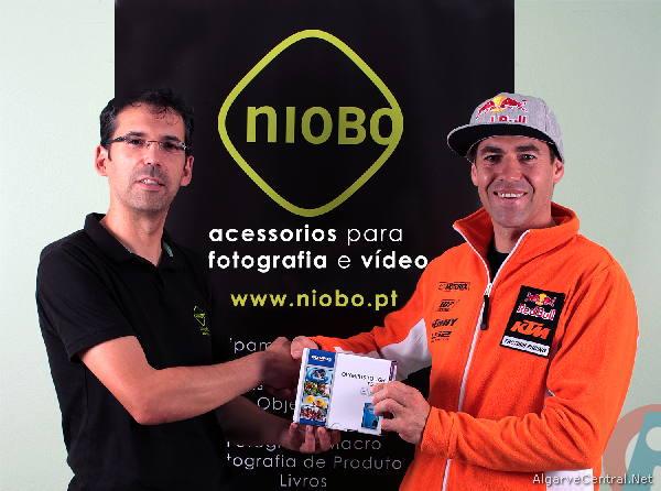 O oficializar da parceria entre a Niobo e Ruben Faria