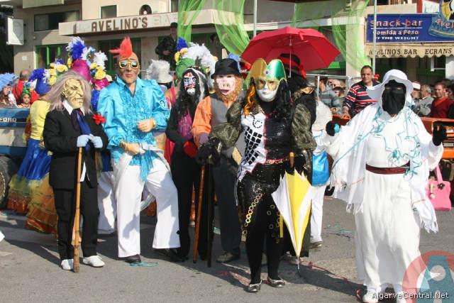 Tradição do Carnaval em Quarteira , Loulé e Alte 2014