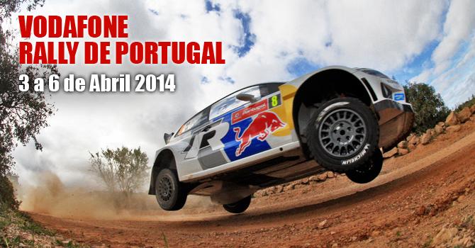 Rally de Portugal rola ao Sul